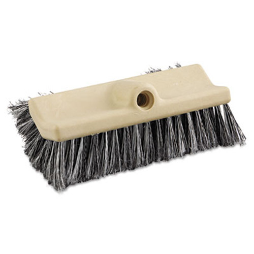"Boardwalk Dual-Surface Vehicle Brush, 10"" Long, Brown (BWK 8420)"