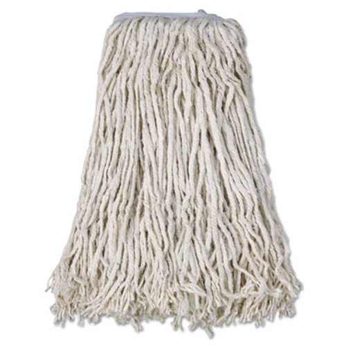 Boardwalk Cotton Mop Head, Cut-End, #32, White, 12/Carton (BWK CM02032S)