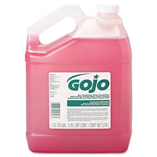 GOJO Bulk Pour All-Purpose Pink Lotion Soap, Floral, 1gal Bottle, 4/Carton (GOJ 1807-04)