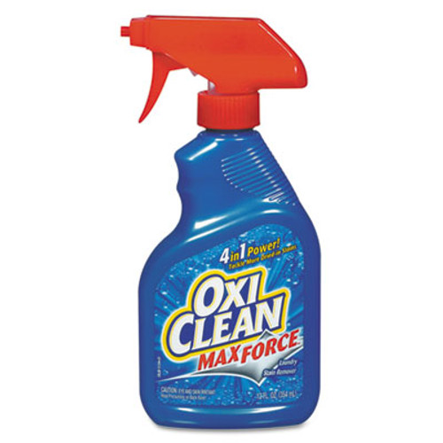 OxiClean Max Force Stain Remover, 12oz Spray Bottle, 12/Carton (CDC 57037-51244)