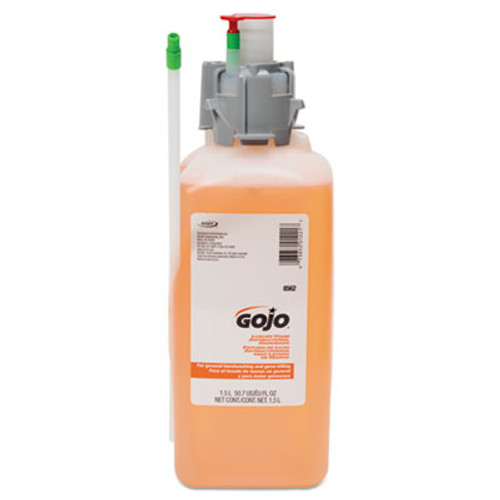 GOJO Luxury Foam Antibacterial Handwash, 1500mL Refill, Fresh Fruit, 2/Carton (GOJ 8562)
