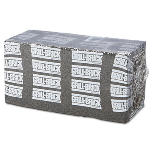 Boardwalk Grill Brick, 8 x 4, Black, 12/Carton (PAD GB12 PC)