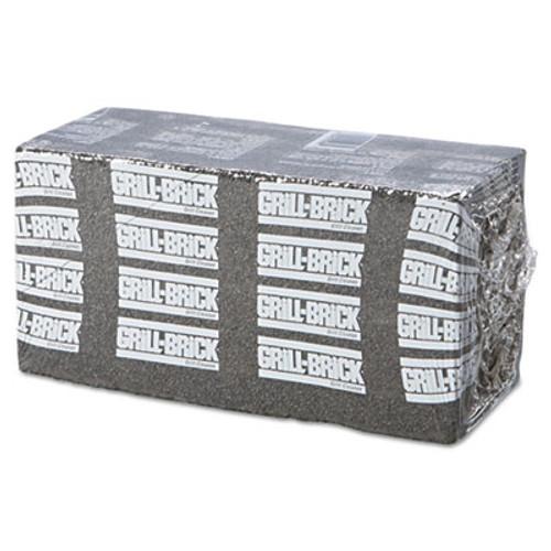 Boardwalk Grill Brick, 8 x 4, Black, 12/Carton (PAD GB12 PC)