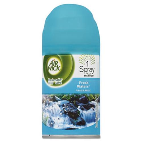 Air Wick Freshmatic Ultra Automatic Spray Refill, Fresh Waters, Aerosol, 6.17 oz (REC 79553)