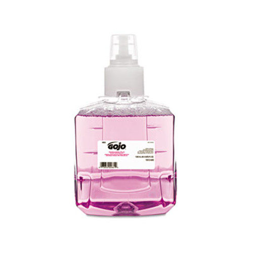 GOJO Antibacterial Plum Foam Hand Wash, 1200mL, Plum Scent, Clear Purple (GOJ 1912-02)