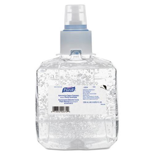 PURELL Advanced Green Certified Hand Sanitizer Refill, 1200mL, FragFree, 2/Carton (GOJ 1903-02)