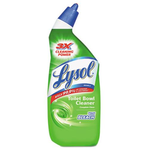 LYSOL Disinfectant Toilet Bowl Cleaner with Bleach, Liquid, 24oz Bottle (REC 75055)