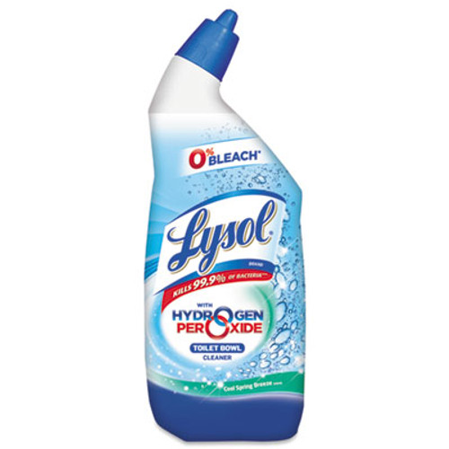 LYSOL Toilet Bowl Cleaner with Hydrogen Peroxide, 24oz Angle-Necked Bottle (RAC85020)