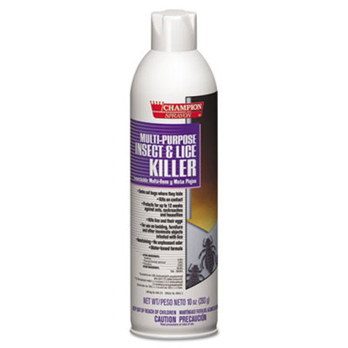Chase Products Champion Sprayon Multipurpose Insect & Lice Killer, 10oz, Can (CHA 5106)