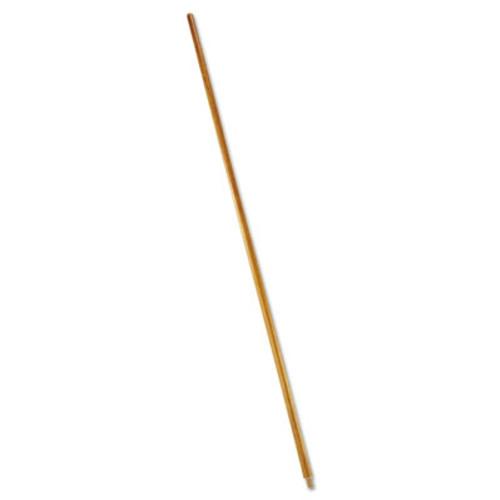 "Rubbermaid Wood Threaded-Tip Broom/Sweep Handle, 60"", Natural (RCP 6361)"