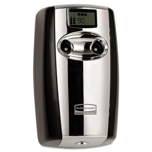 Rubbermaid Microburst Duet Odor Control System, 3 1/2w x 5 1/5d x 8 39/50h, Black/Chrome (TEC 4870055)