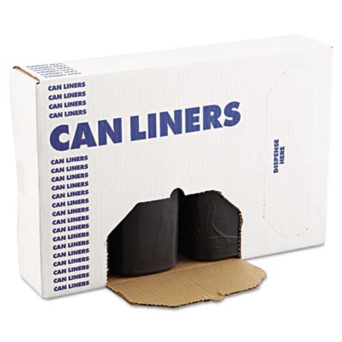 Boardwalk High-Density Can Liner, 38x58, 60gal, 14 Microns, Black, 25 Bags/RL, 8 RL/CT (BWK 385817BLK)