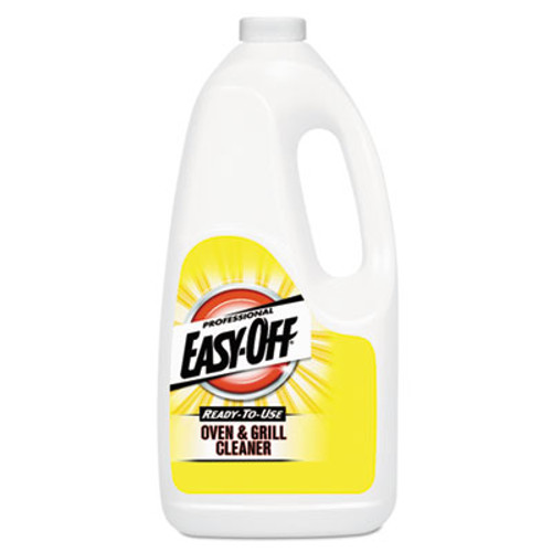 Professional EASY-OFF Ready-to-Use Oven and Grill Cleaner, Liquid, 2qt Bottle (REC 80689)