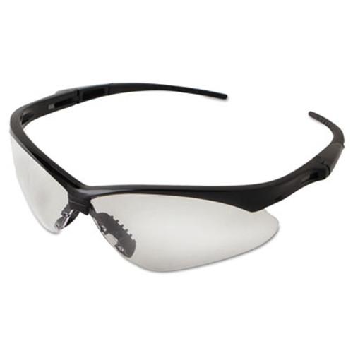 Jackson Safety* Nemesis Safety Glasses, Black Frame, Clear Lens (KCC 25676)