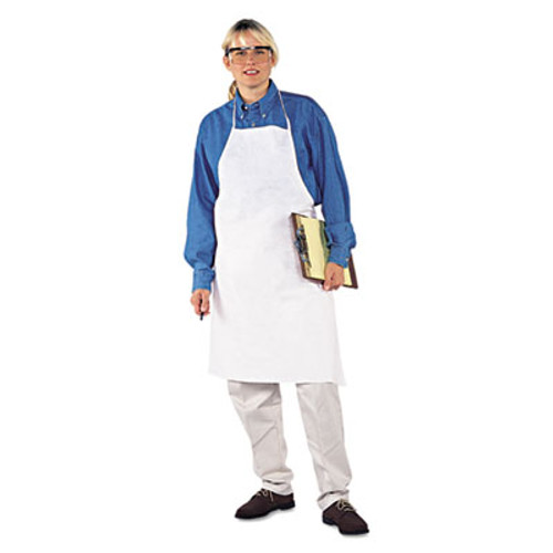 KleenGuard* A20 Apron, 28 in. x 40 in., White, One Size Fits All (KCC 36550)