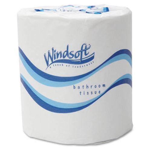 Windsoft Embossed Bath Tissue, 2-Ply, 500 Sheets/Roll, 48 Rolls/Carton (WIN 2405)