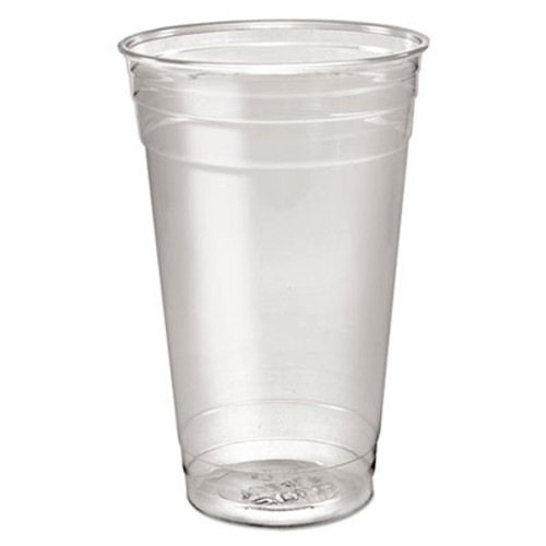 Dart Ultra Clear PETE Cold Cups, 24 oz, Clear, 50/Sleeve, 12 Sleeves/Carton (DCC TD24)
