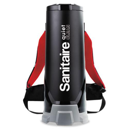 Sanitaire Quiet Clean HEPA Backpack Vac,10qt, Black (EUR 535)