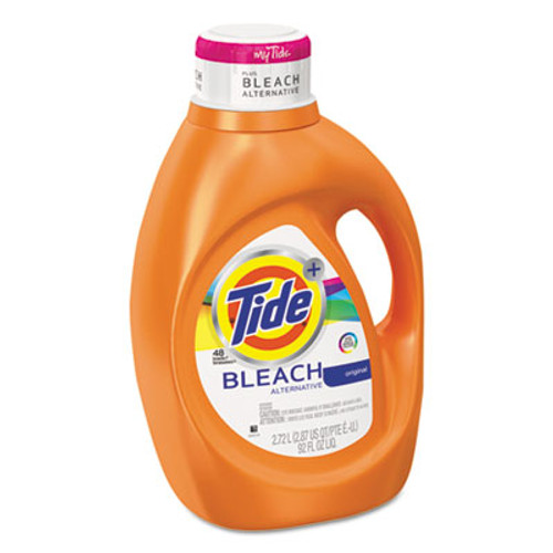 Tide Liquid Laundry Detergent plus Bleach Alternative, Original Scent, 92 oz, 4/Ctn (PGC 87546)
