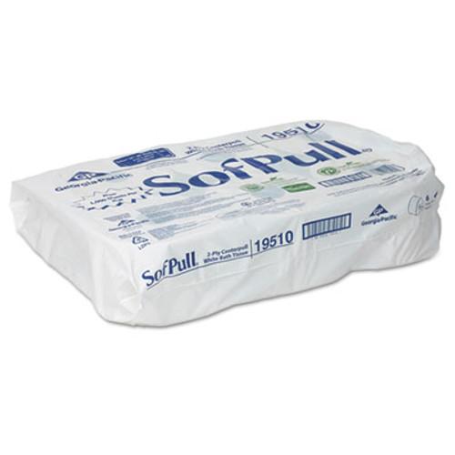 Georgia Pacific High Capacity Center Pull Tissue, 1000 Sheets/Roll, 6 Rolls/Carton (GPC 195-10)