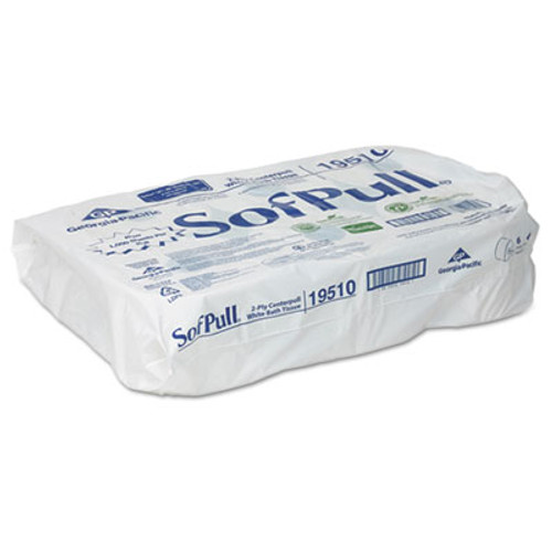 Georgia Pacific Professional High Capacity Center Pull Tissue, 1000 Sheets/Roll, 6 Rolls/Carton (GPC 195-10)