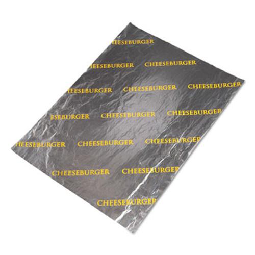 Bagcraft Honeycomb Insulated Cheeseburger Wrap, 10 1/2 x 14, 500/Pack, 4 Packs/Carton (BGC 300853)