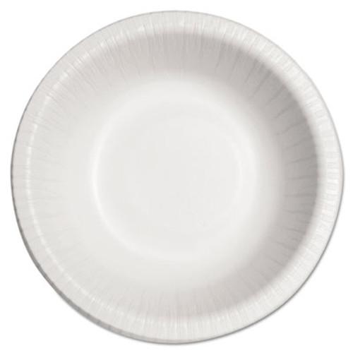 Dart Bare Eco-Forward Clay-Coated Paper Dinnerware, Bowl, 12oz, 125/Bag, 8/CT (SCC HB12B)