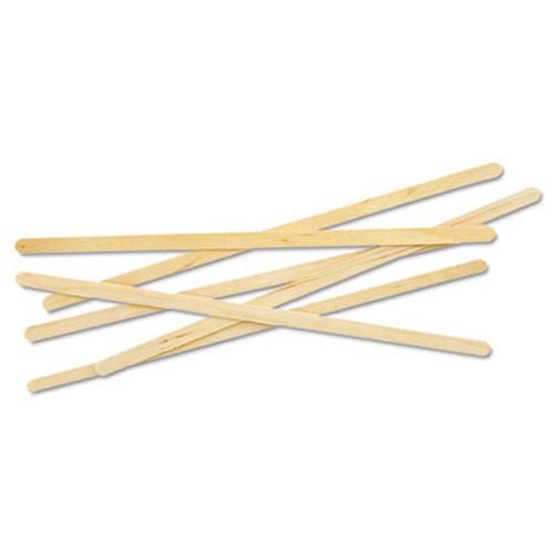 "Eco-Products Renewable Wooden Stir Sticks - 7"", 1000/PK, 10 PK/CT (ECP NT-ST-C10C)"