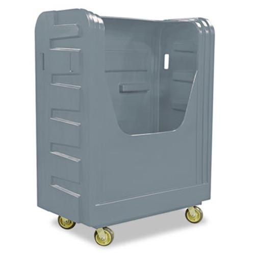 Royal Basket Trucks Bulk Transport Truck, 28 x 50 1/2 x 66 3/4, 800 lbs. Capacity, Gray (RBT R48GRXBF6UN)