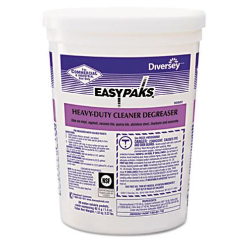 Easy Paks Heavy-Duty Cleaner/Degreaser, 1.5oz Packet, 36/Tub, 2 Tubs/Carton (DVO 90682)