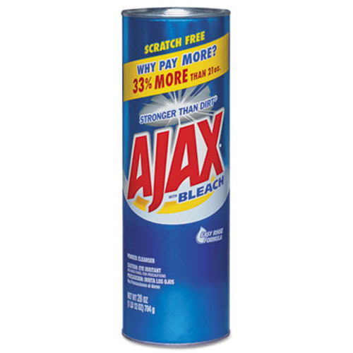 Ajax Powder Cleanser with Bleach, 28 oz Canister, 12/Carton (CPC 05374)