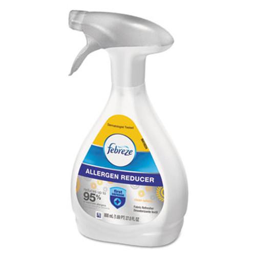 Febreze FABRIC Refresher/Odor Eliminator,Allergen Reducer,Clean Splash,27oz Bottle,6/Ctn (PGC 88971)