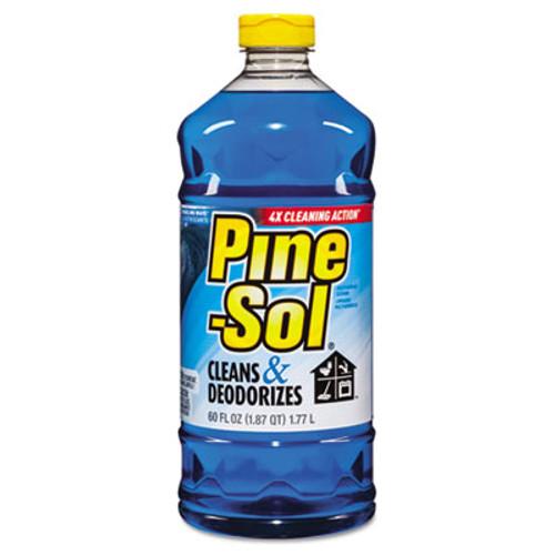 Pine-Sol Multi-Surface Cleaner, Sparkling Wave, 60 oz, 6 Bottles/Carton (CLO 40238)