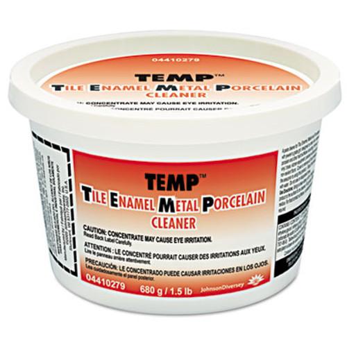 Diversey Temp Paste Cleaner & Polish, Lavender Scent, 24oz Tub, 12/Carton (DVO 4410279)