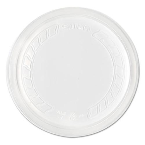 Dart Conex Deli Container Lid, Standard, Plastic, Clear, 500/Ctn (DCC NL8RT-7000)