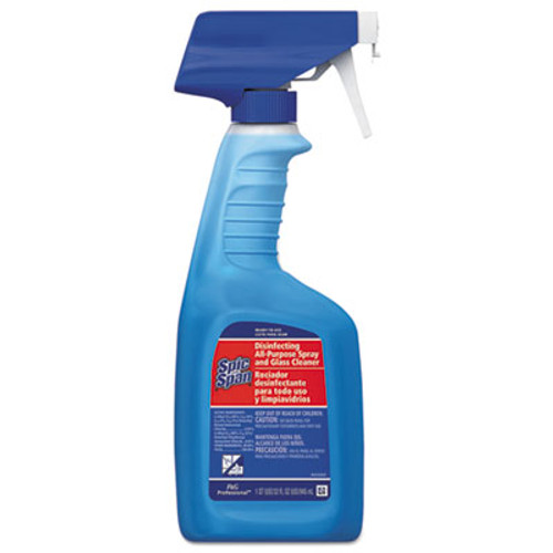 Spic and Span Disinfecting All-Purpose Cleaner, Fresh Scent, 32 oz Spray Bottle, 8/CT (PGC 58775)