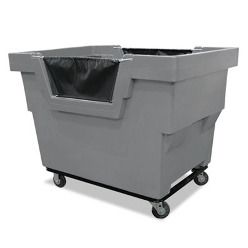 Royal Basket Trucks Mail Truck, Recycle, 31 3/4 x 48 x 37, 1,000 lbs. Capacity, Gray (RBT R23GRXMC4UN)