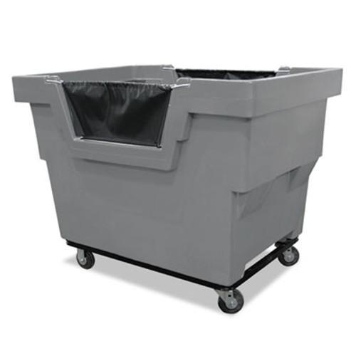 Royal Basket Trucks Mail Truck, Recycle, 31 3/4 x 48 x 37, 1,000 lbs. Capacity, Gray (RBT R23GRXMC4UN)