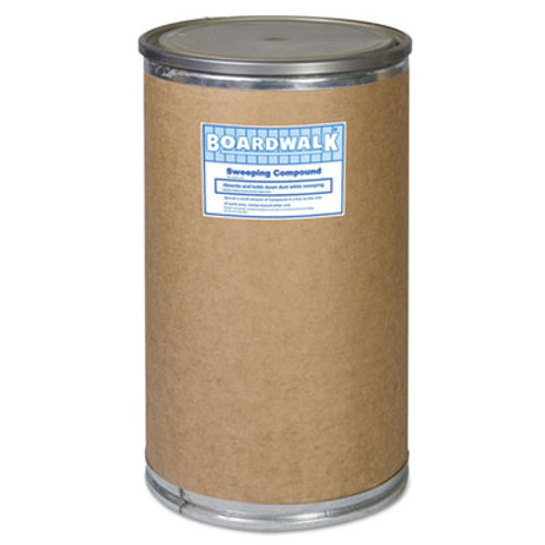Boardwalk Oil-Based Sweeping Compound, Grit, 300lbs, Drum (BWK 9300)