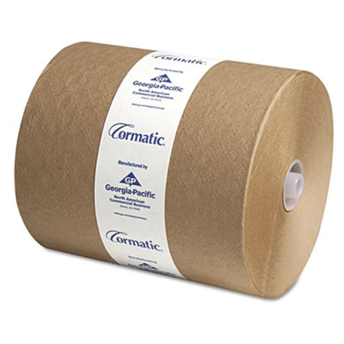 Georgia Pacific Hardwound Roll Towels, 8 1/4 x 700ft, Brown, 6/Carton (GPC 2910P)
