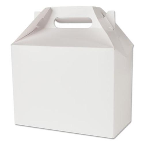 SCT Carryout Barn Boxes, 8 7/8 x 5 x 6 3/4, White, 150/Carton (SCH 2709)