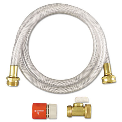Diversey RTD Water Hook-Up Kit, Switch, On/Off, 3/8 dia x 5ft (DVO 3191746)