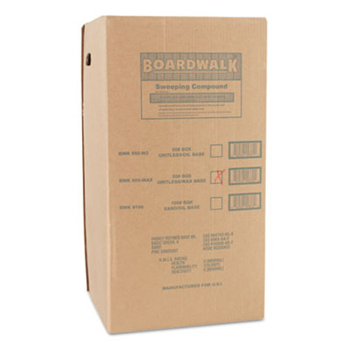 Boardwalk Wax Base Sweeping Compound, Granular, 50 lb Box (BWK 4065)