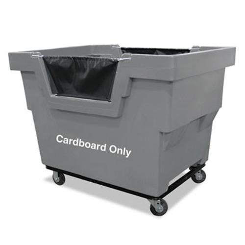 Royal Basket Trucks Mail Truck, Cardboard Only, 31 3/4 x 48 x 37, 1,000 lbs. Capacity, Gray (RBT R23GRXCM4UN)