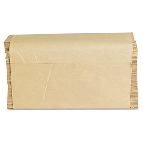 GEN Folded Paper Towels, Multifold, 9 x 9 9/20, Natural, 250 Towels/PK, 16 Packs/CT (GEN 1508)