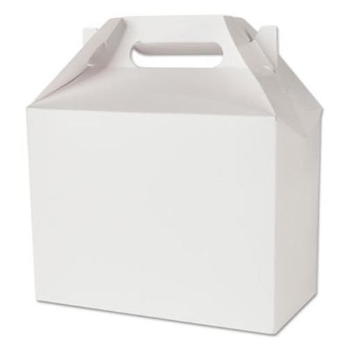 SCT Carryout Tuck Top Boxes, White, 8 7/8w x 4 7/8d x 3 1/16 h, Paperboard, 250/Ctn (SCH 2729)