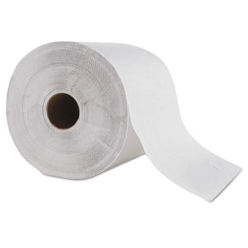 "GEN Hardwound Roll Towel, 1-Ply, White, 8"" x 700 ft, 6 Roll/Carton (GEN 1827)"