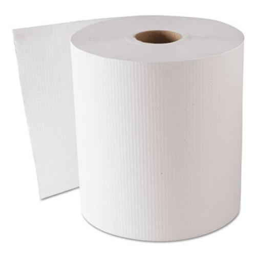 """GEN Hardwound Roll Towels, White, 8"""" x 800 ft, 6 Rolls/Carton (GEN 1820)"""