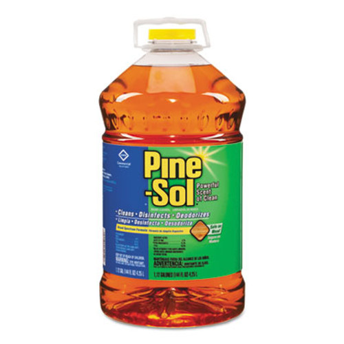 Pine-Sol Multi-Surface Cleaner Disinfectant, Pine, 144oz Bottle, 3 Bottles/Carton (CLO35418CT)