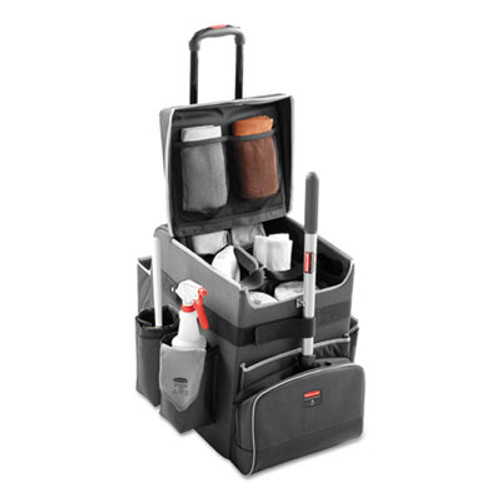 Rubbermaid Executive Quick Cart, Small, 14 1/4 x 16 1/2 x 17, Dark Gray (RCP 1902467)